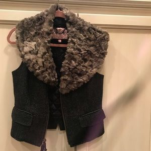 Jucy couture fur vest